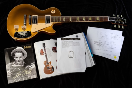 1995 Gibson Les Paul Classic Goldtop SN#50059-1995 From The Estate of Les Paul