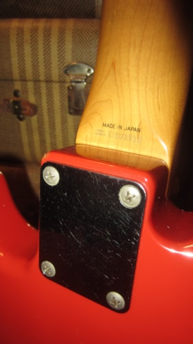 1996 Fender Jag-Stang Orange First Year of Issue Made in Japan