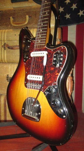 ~1996 Fender Jaguar Sunburst Made in Japan Early Clean and Nice Example