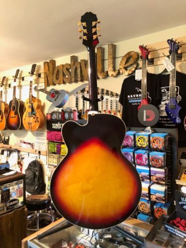 1997 Epiphone Broadway Custom VC (Varitone Control) 3-color Sunburst