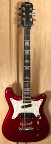 ~1997 Epiphone Coronet Candy Apple Red