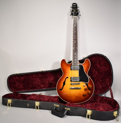 1997 Gibson Custom Shop ES-336 Semi-Hollow Sunburst Electric Guitar w/OHSC