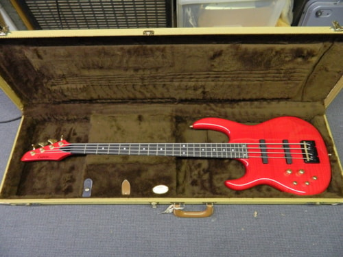 1998 Carvin LB-70 Trans-Red Lefty!