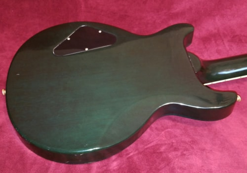1998 Gibson Les Paul Standard DC Double Cut Emerald Green