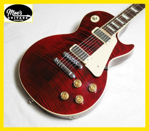 1999 Gibson Les Paul Deluxe LTD Wine Flame Top