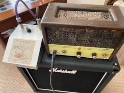 2000 Frank Chapman Custom 18w Handwired Amp and Power Soak Pedal
