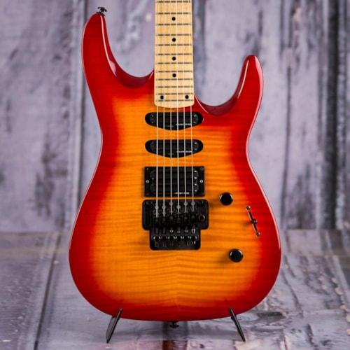 Used 2000 Kramer Striker FR-422SM, Cherry Burst