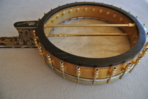 2000s Fairchild Presentation Level 5 string banjo
