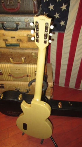 2001 Gibson Custom Shop '57 Re-Issue Les Paul JR TV Yellow Clean w/ Certificate