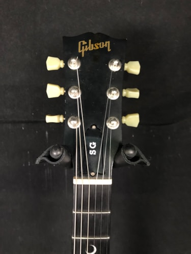 2002 Gibson Crescent Moon SG faded cherry