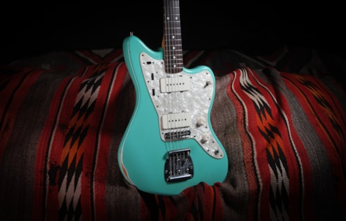 2004 Fender Custom Shop Jazzmaster Tommy Shaw Seafoam Green