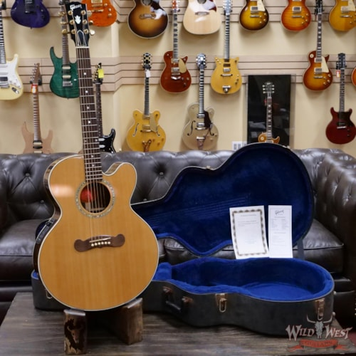 2005 Gibson  L-4A Acoustic-Electric Guitar Natural Owned and Played by Kevin Shirley