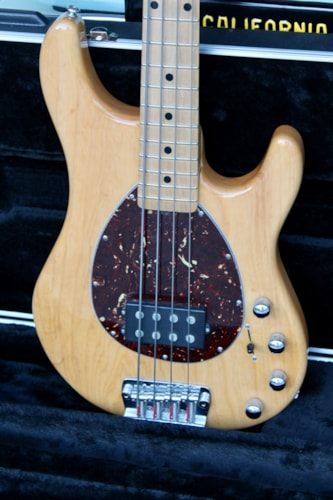 2005 Musicman Sterling Bass, natural finish in excellent condition w/case