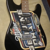 """2005 Squier By Fender """"Miller Genuine Draft"""" Limited Edition"""