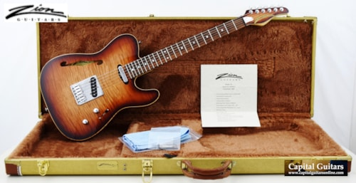 """2005 Zion Guitar Technology 'The Ninety"""" Thinline Tele-Style"""