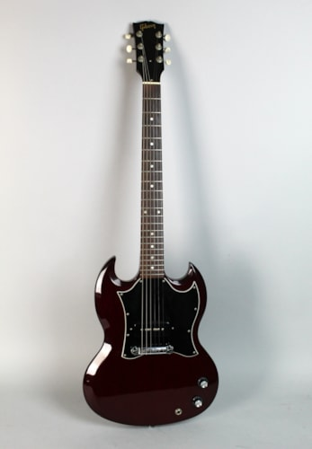 2006 Gibson SG Jr Junior P90 Wine Red Finish Electric Guitar Made In USA