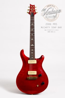 2006 Paul Reed Smith McCarty Soap Bar