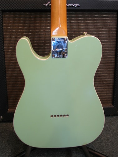 2007 Fender® Telecaster® Vintage '62 Reissue Surf green, Near Mint, Original Hard,