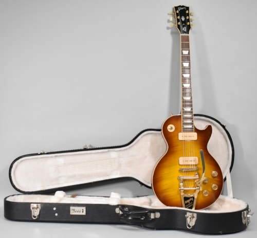 2007 Gibson Les Paul Classic Antique Sunburst Finish Electric Guitar w/OHSC