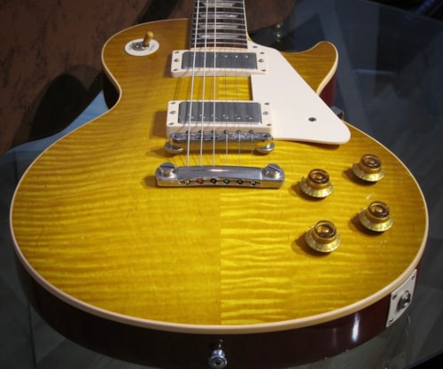2007 Gibson 1960 Les Paul Standard Reissue Flamed (1960 reissue) Amber Top Red Sides & Back