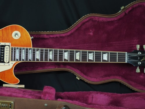 2007 Gibson Les Paul Standard Faded Burst Chambered 7 Lbs 4.8 Oz