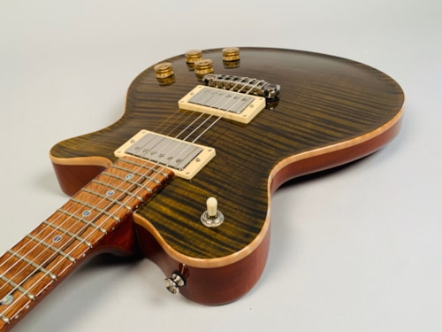 2008 Don Grosh Set Neck Custom  Tiger Eye