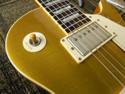 2008 Gibson Les Paul 50th Anniversary R8 (1958 reissue) Gold Top