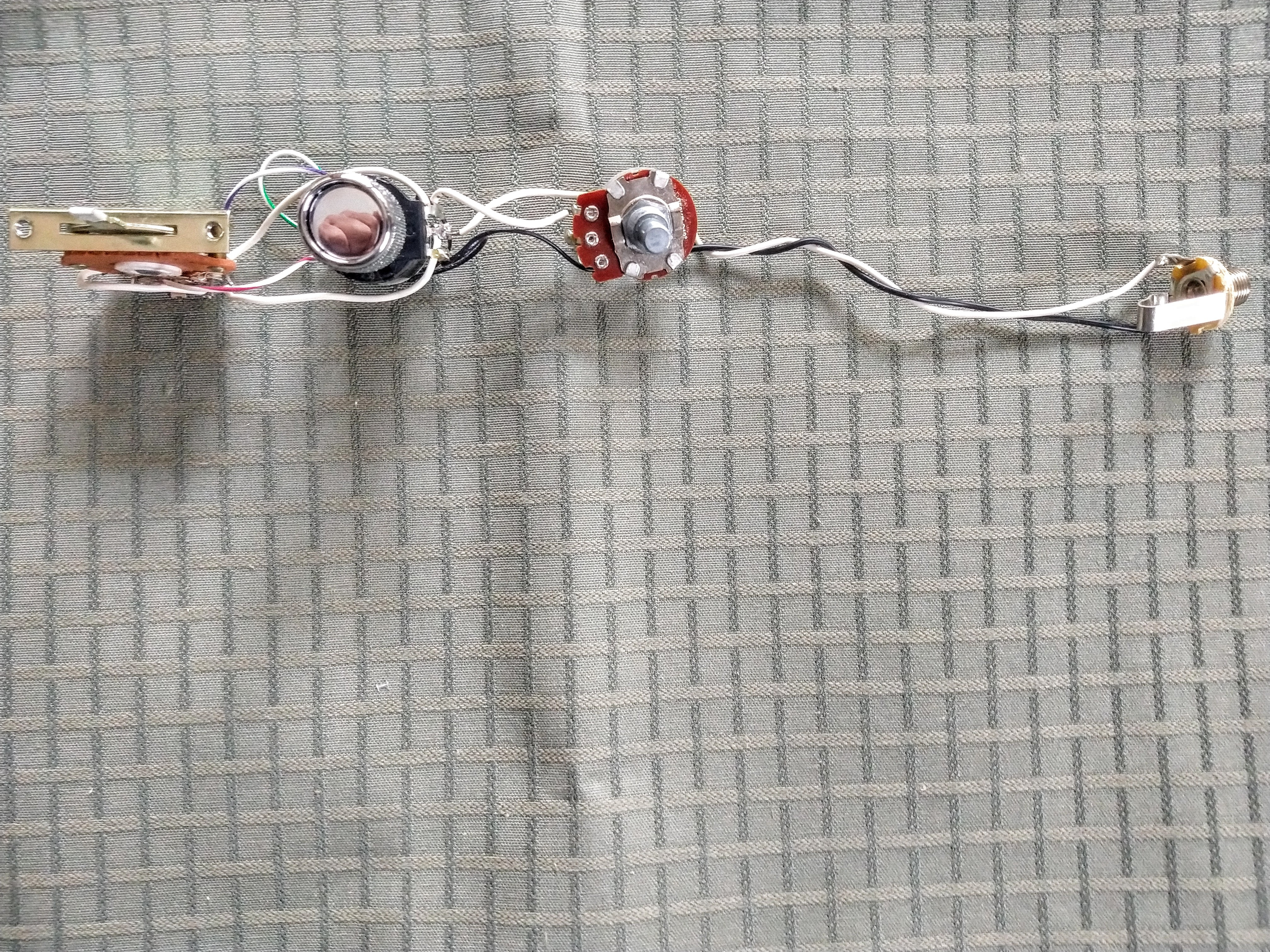2010 Fender American Telecaster Deluxe S1 Wiring Harness