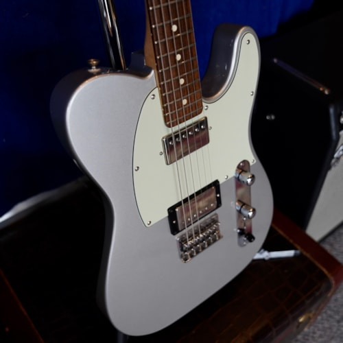 2010 Fender  Blacktop Telecaster Ghost Silver