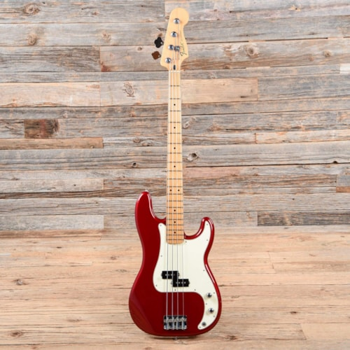 Fender Standard Precision Bass Candy Apple Red 2010