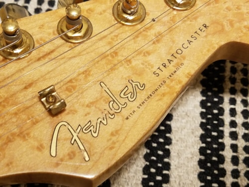~2010 Fender Stratocaster - Parts Guitar Pearl