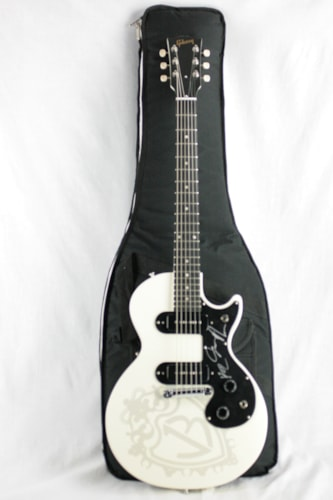 NOS 2010 Gibson Melody Maker Les Paul Jonas Brothers Ebony Board Signed Autograph