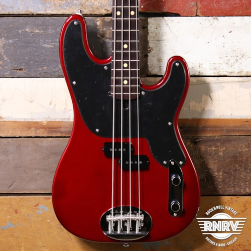 Lakland Skyline 4451 Vintage 50's Style P Candy Apple Red - Rosewood