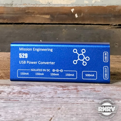Mission Engineering Power 529 USB Pedalboard Power Supply
