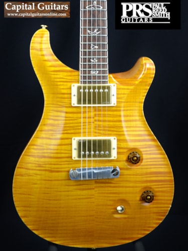 2010 Paul Reed Smith Modern Eagle II 25th Anniversary Smoked Amber, Near Mint, Original Hard, $3,499.00