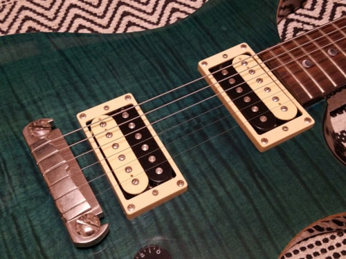 2010 PRS SE Custom 22 Trans Emerald Green