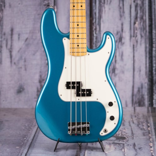 Used 2011 Fender Standard Precision Bass, Lake Placid Blue