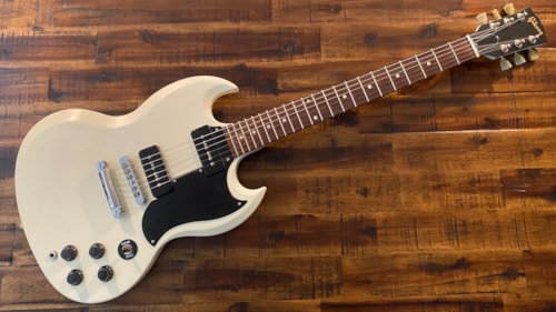 2011 Gibson SG Special 60's Tribute Worn White