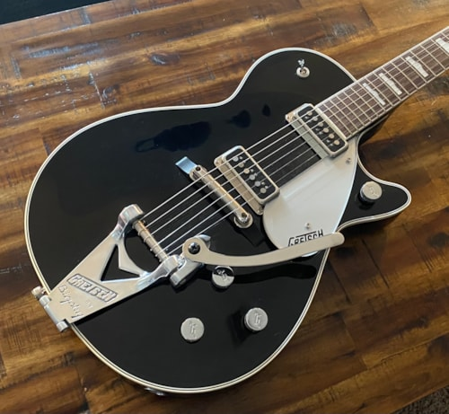 2011 Gretsch G6128T-GH George Harrison Duo Jet Black