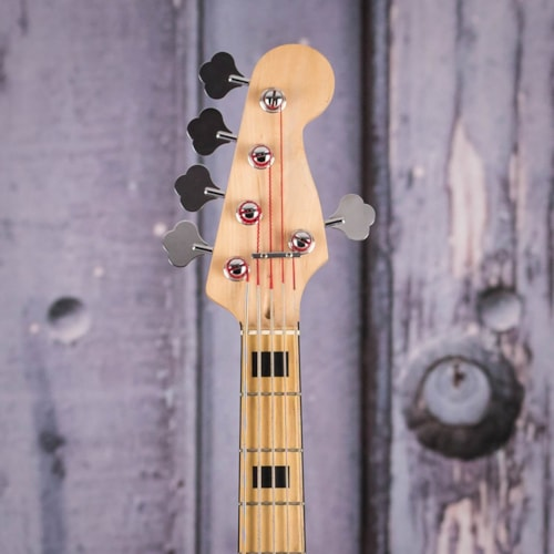 Used 2011 Squier Vintage Modified V Jazz Bass, Natural