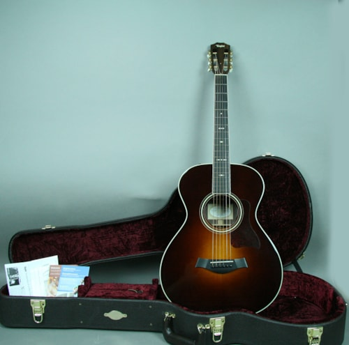 2011 Taylor 712E Grand Concert Tobacco Sunburst, Excellent, Original Hard, $1,995.00