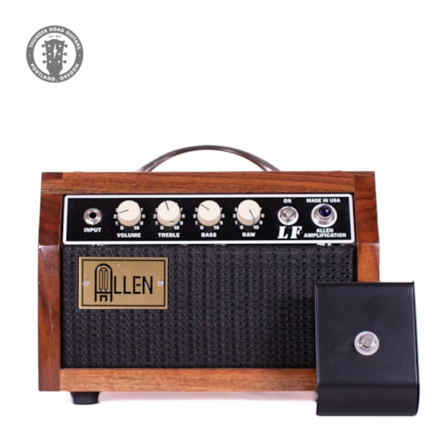 ~2012 Allen Amplification  Custom LF Wood