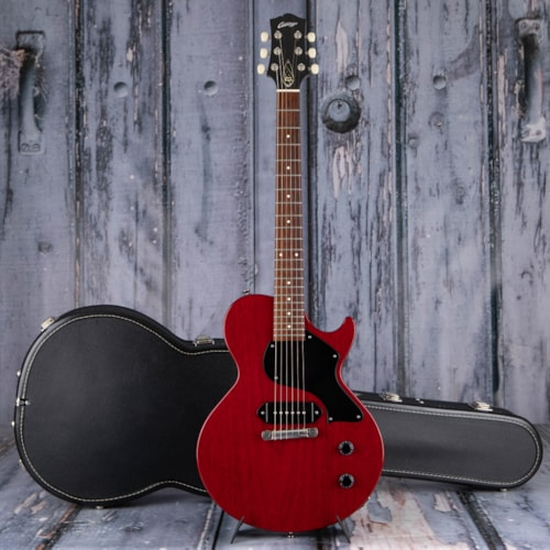 Used 2012 Collings 290 S Offset, Transparent Cherry Gloss