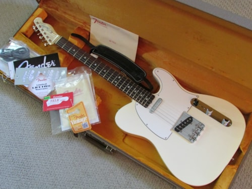 2012 Fender® American Vintage '64 Telecaster® Reissue White Blond, Mint, Original Hard,