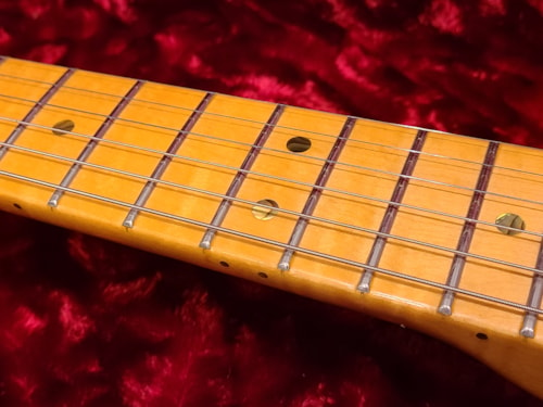 2012 Fender Custom Shop, Custom Deluxe Telecaster, Candy Red AAA Top