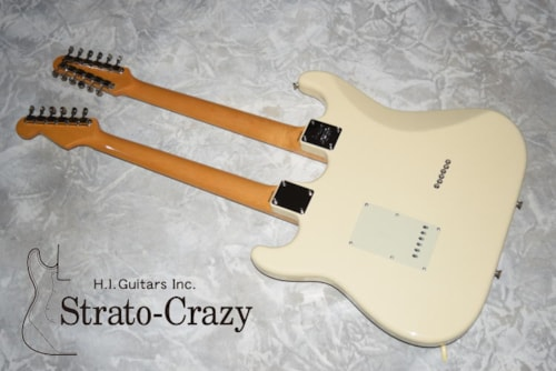 2012 Fender Japan 30th Anniversary Double neck Stratocaster ST-W