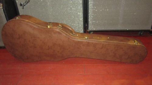 ~2012 Gibson Les Paul Custom Shop Re-Issue Case Brown w/ Pink Interior