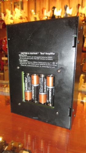 2012 Terz Amplifier Critter and Guitari for Third Man Records Black, Excellent, $199.00