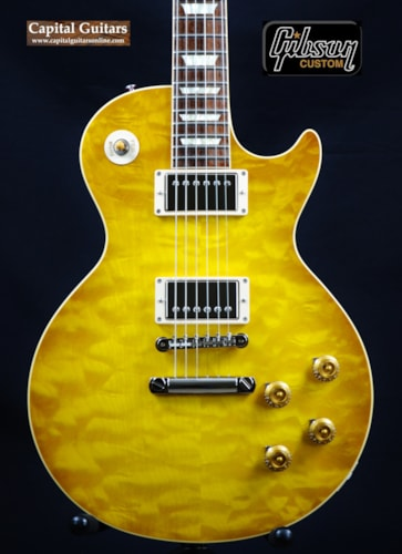 2013 Gibson Custom 58 Les Paul Reissue Lemonburst, Mint, Original Hard, $3,499.00