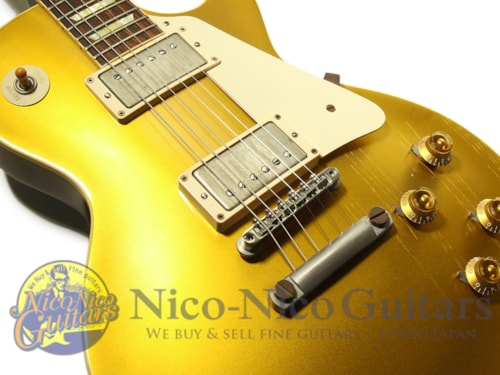 2013 Gibson Custom Shop 1957 Les Paul Dark Back VOS Gold